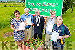 The Mayor of kerry  Launches the Lord Mayor of Castlemaine  on Thursday Pictured Liz Ryhall O'Connor, Michael O'Shea, Pat McCarthy, Mayor Of Kerry, John B O'Sullivan and Mike flynn.