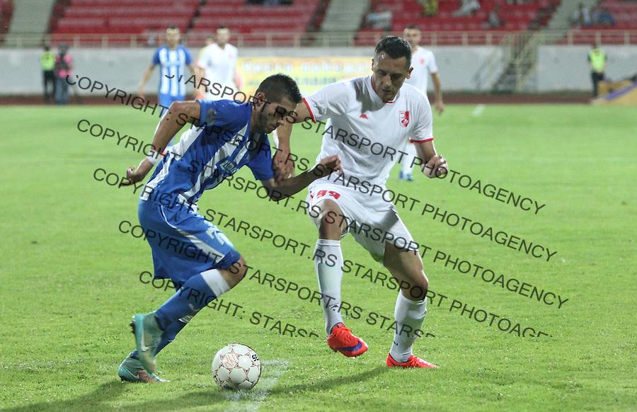 Fudbal Super liga season 2015-2016<br /> Radnicki (Nis) v Ofk Beograd<br /> Ofk Beograd Aleksandar Jesic<br /> Nis, 24.07.2015.<br /> foto: Sasa Djordjevic/Starsportphoto &copy;