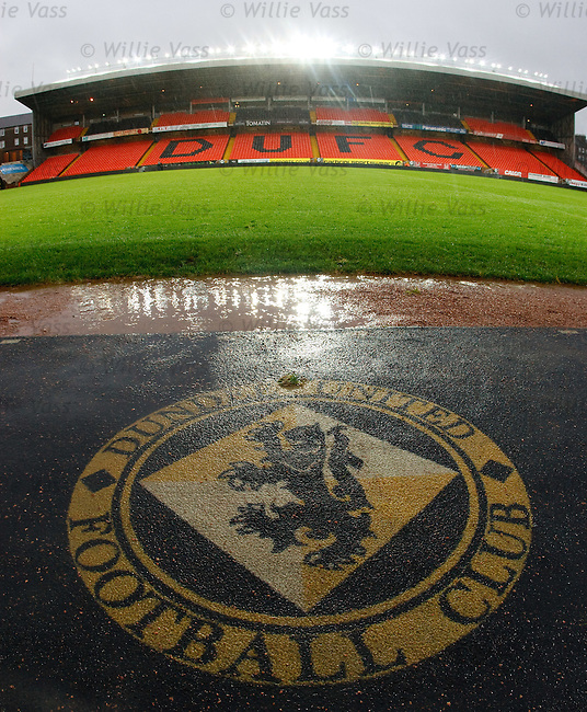 Match abandoned due to rain at Tannadice