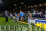 Kerry in action against Michael Darragh Macauley Dublin in the National League in Austin Stack park on Saturday night.