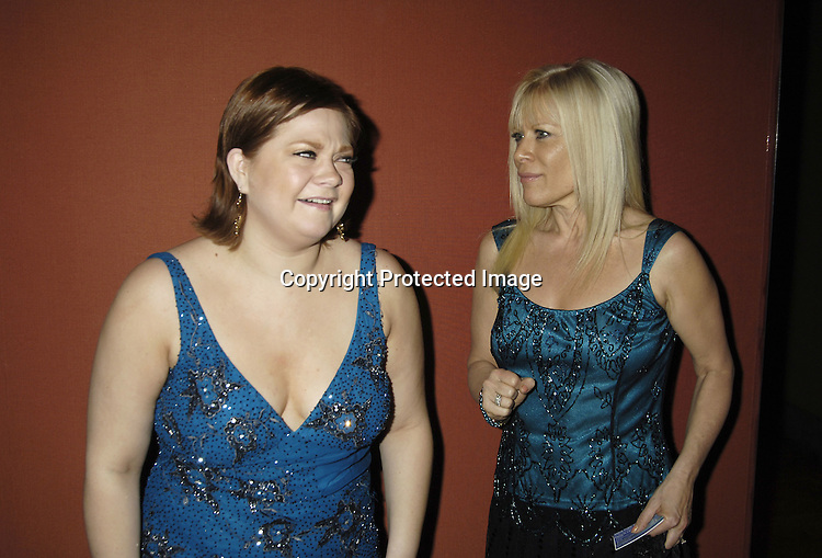 "Kathy Brier and Ilene Kristen  ..at The Opening Night Party for the Musical ""A Broadway Diva Christmas"" on December 4, 2005 at The Biltmore. ..Photo by Robin Platzer, Twin Images"
