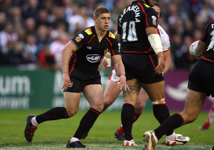 Photo: Paul Thomas..St Helens Saints v Wigan Warriors. Engage Super League 2007. 20/07/2007...Mike McIlorum of Wigan.