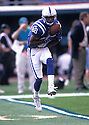 Indianapolis Colts Marvin Harrsion (88) during a game from his 1999 season.  Marvin Harrsion played for 13 years, all with the Colts and was a 8-time Pro Bowler.