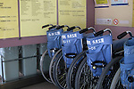 Apr 6, 2010 - Tokyo, Japan - Wheelchairs are pictured in the entrance of The University of Tokyo Hospital on April 6, 2010. Recent investigations in the rural areas revealed that Alzheimer's disease in Japan occurred in about 3.5% of individuals aged 65 or more. An estimated 1 million Japanese have Alzheimer's disease today, according to the World Health Organization.