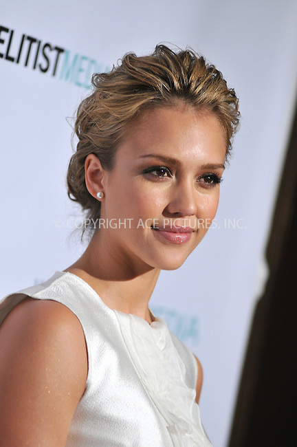 WWW.ACEPIXS.COM . . . . . ....April 21 2009, Beverly Hills CA....Actress Jessica Alba arriving at the 1st Annual Historic Health Summit Gala at the Beverly Hilton on April 21, 2009 in Beverly Hills, California.....Please byline: JOE WEST- ACEPIXS.COM.. . . . . . ..Ace Pictures, Inc:  ..(646) 769 0430..e-mail: info@acepixs.com..web: http://www.acepixs.com