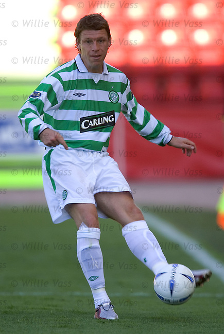 Alan Thompson, Celtic.stock season 2004-2005.pic willie vass