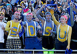 BROOKINGS, SD - OCTOBER 24:  Students from South Dakota State celebrate Hobo Day against the University of Northern Iowa in the second quarter of their game Saturday afternoon at Coughlin Alumni Stadium in Brookings. (Photo by Dave Eggen/Inertia)