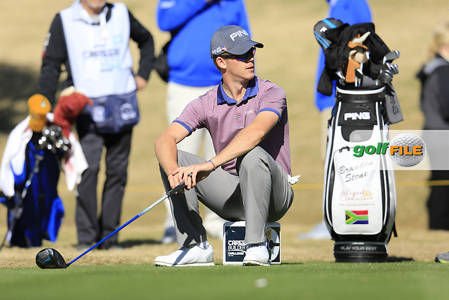 Brandon Stone (RSA) on the 2nd tee during Saturday's Round 3 of the 2017 CareerBuilder Challenge held at PGA West, La Quinta, Palm Springs, California, USA.<br /> 21st January 2017.<br /> Picture: Eoin Clarke | Golffile<br /> <br /> <br /> All photos usage must carry mandatory copyright credit (&copy; Golffile | Eoin Clarke)