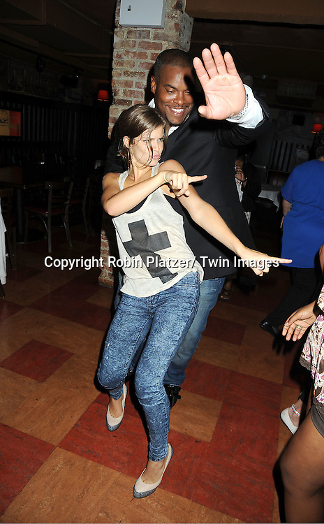 Kelley Missal and Sean Ringgold attending the Shenell Edmonds Fan Club Dance Party on ..August 14, 2011 at HB Burger's Sunken Bar in New York City. Shenell plays Destiny Evans on One Life to Live.