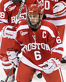 Joe Pereira (BU - 6) - The Boston College Eagles defeated the visiting Boston University Terriers 5-2 on Saturday, December 4, 2010, at Conte Forum in Chestnut Hill, Massachusetts.