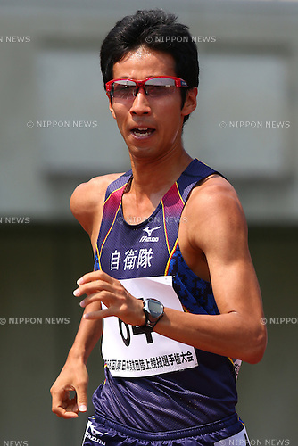 Hirooki Arai,<br /> MAY 21, 2016 - Athletics :<br /> The 58th East Japan Industrial Athletics Championship <br /> Men's 5000m Race Walk<br /> at Kumagaya Sports Culture Park Athletics Stadium, Saitama, Japan. <br /> (Photo by Shingo Ito/AFLO SPORT)