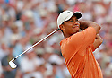 Tiger Woods (USA) in action during the third round of the Open Championship at Royal Liverpool Golf Club, Hoylake, on July 22nd, 2006. Picture Credit / Phil Inglis