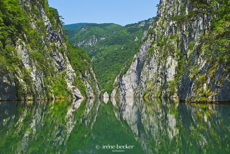Drina River Canyon, Tara National Park.