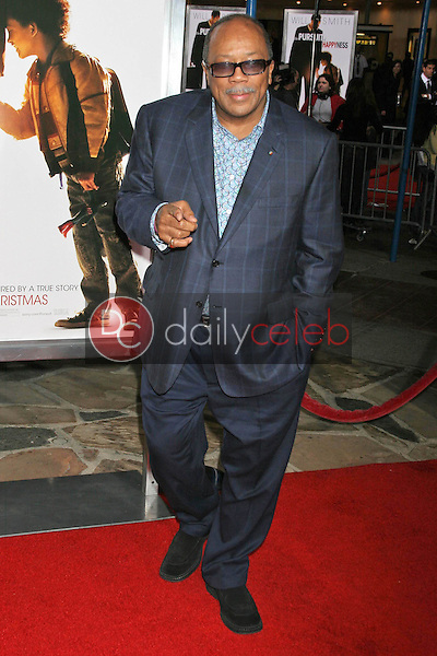 Quincy Jones<br />at the premiere of &quot;The Pursuit of Happyness&quot;. Mann Village Theatre, Westwood, CA. 12-07-06<br />Dave Edwards/DailyCeleb.com 818-249-4998