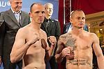 05.12.2014, Famila Einkaufsland, Oldenburg, WBA-Weltmeisterschaft im Halbschwergewicht  Pawel Glazewski (PL) vs Juergen Braehmer /GER) -  Wiegen, <br /> <br /> Foto &copy; nordphoto / Kokenge