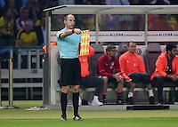 FUSSBALL  DFB POKAL FINALE  SAISON 2015/2016 in Berlin FC Bayern Muenchen - Borussia Dortmund         21.05.2016 Schiedsrichterassistenten Dominik Schaal (Tuebingen)