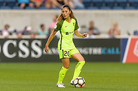 Bridgeview, IL - Wednesday August 16, 2017: Rumi Utsugi during a regular season National Women's Soccer League (NWSL) match between the Chicago Red Stars and the Seattle Reign FC at Toyota Park.