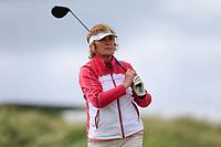 Rita McGoldrick (Enniscrone) during the 2nd round of the Irish Women's Open Stroke Play Championship, Enniscrone Golf Club, Enniscrone, Co. Sligo. Ireland. 16/06/2018.<br /> Picture: Golffile | Fran Caffrey<br /> <br /> <br /> All photo usage must carry mandatory  copyright credit (© Golffile | Fran Caffrey)