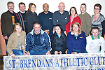5171-5173.Coaches and committee members of St Brendan's Athletic Club, Ardfert pictured at their awards night held in The Ardfert Community Centre on Friday night. Seated l/r Chris O'Shea, John Clifford, Josephine Cronin, Gill Austin O'Sullivan and Shane Delaney. Standing l/r Con Heffernan, Patrick O Riordan, Sinead O Connor, Shaz Malik, Dave Mc Elligott, Laura O'Sullivan, Kerry O'Sullivan, Mary Marley..................................................................................... ............   Copyright Kerry's Eye 2008