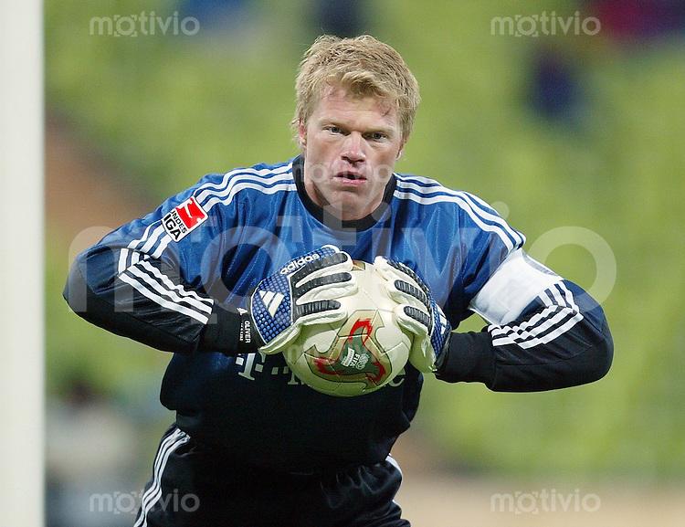 FUSSBALL DFB Pokal 2002/2003 2. Runde  FC Bayern Muenchen 2-1 Hannover 96 Oliver Kahn (FCB)