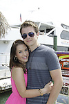 Kristen Alderson & Chad Duell donated time at 15th Southwest Florida Soapfest 2014 Charity Weekend - at Cruisin' and Schmoozin' on May 25, 2104 aboard the Marco Island Princess (boat), Marco Island, Florida.  (Photo by Sue Coflin/Max Photos)
