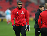 Leon Clarke of Sheffield Utd during the championship match at the Oakwell Stadium, Barnsley. Picture date 7th April 2018. Picture credit should read: Simon Bellis/Sportimage