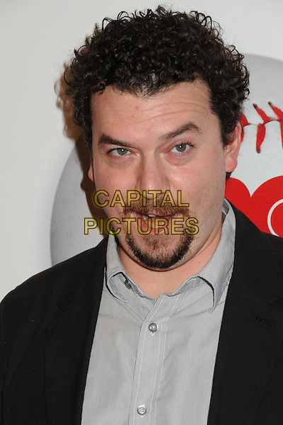 "Danny McBride.HBO's ""Eastbound And Down"" Season 3 Premiere held at Cinespace, Hollywood, California, USA..February 9th, 2012.headshot portrait black grey gray shirt goatee facial hair mouth open.CAP/ADM/BP.©Byron Purvis/AdMedia/Capital Pictures."