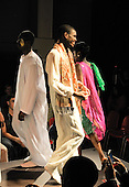 African section of a multi-cultural charity Fashion Show put on by students reflecting the wide cultural diversity of the student base at Kingston College.