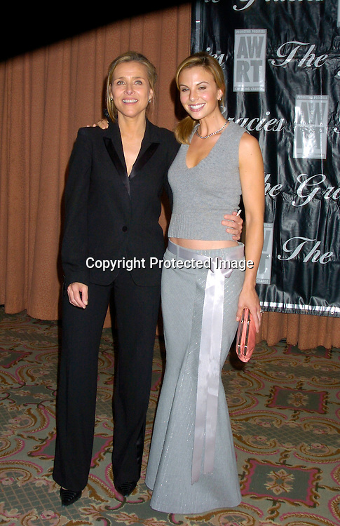 Meredith Vieira and Elisabeth Hasselback ..at the 2004 Gracie Allen Awards on June 22, 2004 at The New York Hilton.  American Women in Radio & Television ..Gracie Allen Awards Gala celebrates exemplary programming created for women, by women and about ..women...Photo by Robin Platzer, Twin Images