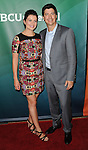 Casey Wilson and Ken Marino arriving at the NBCUniversal Summer TCA 2014 held at The Beverly Hilton Hotel Beverly Hills, CA. July 13, 2014.