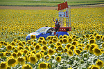 The Publicity caravan during Stage 16 of the 104th edition of the Tour de France 2017, running 165km from Le Puy-en-Velay to Romans-sur-Isere, France. 18th July 2017.<br /> Picture: ASO/Bruno Bade | Cyclefile<br /> <br /> <br /> All photos usage must carry mandatory copyright credit (&copy; Cyclefile | ASO/Bruno Bade)