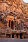 Burial  chambers in Little Petra