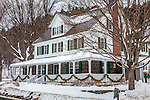 Christmas at the Three Stallion Inn in Randolph, VT