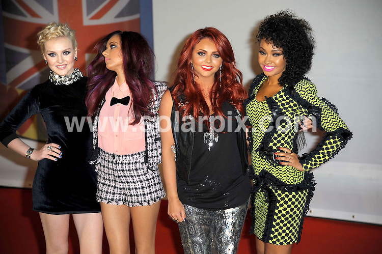 **ALL ROUND PICTURES FROM SOLARPIX.COM**                                             **WORLDWIDE SYNDICATION RIGHTS**                                                                                  Stars arrive at London's O2 Arena for the 2012 Brit Awards..This pic:   Little Mix                        .JOB REF:    14495   MSR     DATE:   22.02.12                                                         **MUST CREDIT SOLARPIX.COM OR DOUBLE FEE WILL BE CHARGED**                                                                      **MUST AGREE FEE BEFORE ONLINE USAGE**                               **CALL US ON: +34 952 811 768 or LOW RATE FROM UK 0844 617 7637**