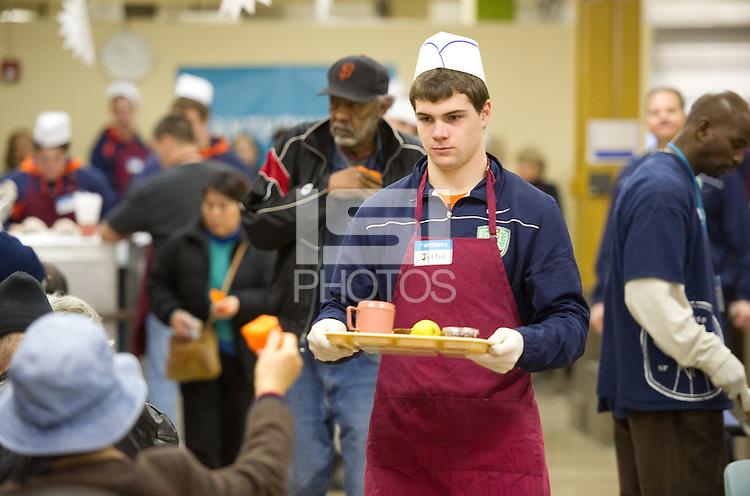 San Francisco, Ca - Saturday, Dec. 31, 2011: The 2011 Kraft Fight Hunger Bowl.