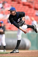 April 25, 2009:  Relief Pitcher Kyle Snyder of the Buffalo Bisons, International League Class-AAA affiliate of the New York Mets, delivers a pitch during a game at the Coca-Cola Field in Buffalo, NY.  Photo by:  Mike Janes/Four Seam Images