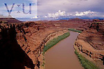 The Colorado River Colorado River Gorge, Canyon Rims Recreation Area, Utah