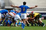Italy 15 v 44 Australia Stade D'Honneur du Parc des Sports et de L'Amitie, Narbonne France. World Rugby U20 Championship 2018. Photo Martin Seras Lima