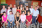 Geraldine Mackey Killarney who celebrated her 40th birthday in the Porterhouse bar Killarney on Friday night front row l-r: Noreen O'Leary, Tony Makey, Geraldine Mackey, Mary Kearney, Hannah McEvoy. Back row: Tom Kearney, Gavin O'Leary, Nuala Kearney, Mike Kearney, Marese Kearney, Liam Kearney, Ciara O'Leary, Mary Kearney, John Kearney, Kevin and Damian O'Leary