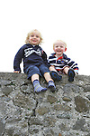 Best seats in the house for brothers Joseph and Ronan O'Reilly at the 2011 Laytown races.(Photo credit should read Jenny Matthews www.newsfile.ie)....This Picture has been sent you under the conditions enclosed by:.Newsfile Ltd..The Studio,.Millmount Abbey,.Drogheda,.Co Meath..Ireland..Tel: +353(0)41-9871240.Fax: +353(0)41-9871260.GSM: +353(0)86-2500958.email: pictures@newsfile.ie.www.newsfile.ie.