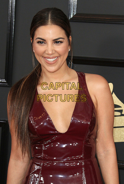 12 February 2017 - Los Angeles, California - Liz Hernandez. 59th Annual GRAMMY Awards held at the Staples Center.  <br /> CAP/ADM<br /> &copy;ADM/Capital Pictures