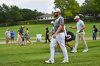 Tyrrell Hatton (ENG) heads down 7 during round 1 of the 2019 Charles Schwab Challenge, Colonial Country Club, Ft. Worth, Texas,  USA. 5/23/2019.<br /> Picture: Golffile | Ken Murray<br /> <br /> All photo usage must carry mandatory copyright credit (© Golffile | Ken Murray)