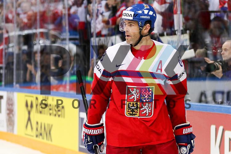 Tschechiens Jagr, Jaromir (Nr.68)(Florida Panthers)  im Spiel IIHF WC15 Czech Republic vs. Finland.<br /> <br /> Foto &copy; P-I-X.org *** Foto ist honorarpflichtig! *** Auf Anfrage in hoeherer Qualitaet/Aufloesung. Belegexemplar erbeten. Veroeffentlichung ausschliesslich fuer journalistisch-publizistische Zwecke. For editorial use only.