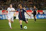 Keisuke Honda (JPN), .FEBRUARY 6, 2013 - Football / Soccer : .KIRIN Challenge Cup 2013 Match between Japan 3-0 Latvia .at Home's Stadium Kobe in Hyogo, Japan. .(Photo by Akihiro Sugimoto/AFLO SPORT)