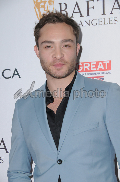 15 September  2017 - Beverly Hills, California - Ed Westwick. 2017 BAFTA Los Angeles BBC America TV Tea Party  held at The Beverly Hilton Hotel in Beverly Hills. Photo Credit: Birdie Thompson/AdMedia