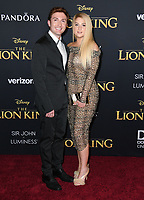 "09 July 2019 - Hollywood, California - Daryl Sabara, Meghan Trainor. Disney's ""The Lion King"" Los Angeles Premiere held at Dolby Theatre. <br /> CAP/ADM/BT<br /> ©BT/ADM/Capital Pictures"