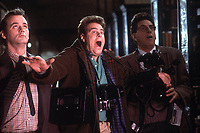 Ghostbusters (1984) <br /> Dan Aykroyd, Bill Murray &amp; Harold Ramis<br /> *Filmstill - Editorial Use Only*<br /> CAP/KFS<br /> Image supplied by Capital Pictures