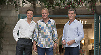 MAMMA MIA! HERE WE GO AGAIN (2018)<br /> COLIN FIRTH, STELLAN SKARSGARD, PIERCE BROSNAN<br /> *Filmstill - Editorial Use Only*<br /> CAP/FB<br /> Image supplied by Capital Pictures