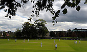 Carlton CC V Grange CC, Scottish National Cricket League, Premier Division, at Grange Loan, Edinburgh - Grange Loan basking in sunshine as the match rages on - Picture by Donald MacLeod 25.07.09