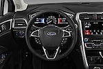 Car pictures of steering wheel view of a 2017 Ford Fusion SE-FWD 4 Door Sedan Steering Wheel